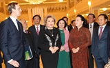 Chủ tịch Quốc hội Nguyễn Thị Kim Ngân hội đàm với Chủ tịch Hội đồng Liên bang Nga