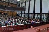응웬쑤언푹 총리 2019년 전군 군정회의 참석