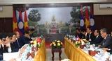 Вьетнамско-лаосские отношения в различных областях развиваются углубленно и эффективно