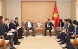 Вьетнам и Россия поощряют сотрудничество между предприятиями двух стран