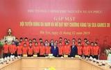 Le Premier ministre salue les exploits des équipes de football masculin et féminin aux SEA Games 30