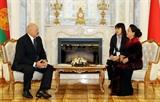 Chủ tịch Quốc hội Nguyễn Thị Kim Ngân hội kiến Tổng thống Cộng hòa Belarus