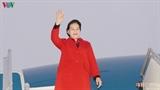 Председатель НС СРВ Нгуен Тхи Ким Нган прибыла в Республику Беларусь