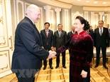 Председатель НС Вьетнама встретилась с Президентом Беларуси
