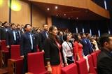 응웬쑤언푹 총리 베트남 청년연맹 대회 참석 대표자들과 대화