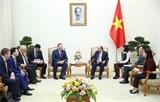 Thủ tướng Nguyễn Xuân Phúc tiếp Tổng giám đốc Công ty dầu khí Zarubezhneft Liên bang Nga