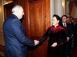 Chủ tịch Quốc hội Nguyễn Thị Kim Ngân hội kiến Thủ tướng Chính phủ CH Belarus