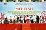 Lễ mít tinh hưởng ứng Tháng hành động quốc gia phòng chống HIV/AIDS năm 2019