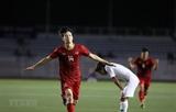 베트남 U-22 동남아게임 축구 3연승... 인도네시아에 역전승