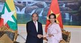 Coi trọng quan hệ Đối tác hợp tác toàn diện Việt Nam –Myanmar