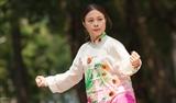 Nữ vận động viên Wushu Trần Lê Thanh Trúc