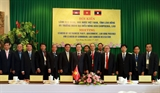 Tăng cường tình đoàn kết Việt Nam - Lào - Campuchia