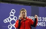 Establece halterófila vietnamita nuevo récord para los SEA Games
