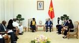 Thủ tướng Nguyễn Xuân Phúc tiếp Bộ trưởng Ngoại giao Cộng hòa Kenia