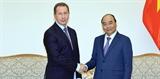 Thủ tướng Nguyễn Xuân Phúc tiếp Giám đốc Cơ quan Vệ binh quốc gia Liên bang Nga