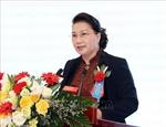 ប្រធានរដ្ឋសភាវៀតណាម លោកស្រី Nguyen Thi Kim Ngan អញ្ជើញចូលរួមពិធីអបអរសាទរខួបលើកទី ៦០ នៃការបង្កើតវិទ្យាស្ថានវិទ្យាសាស្ត្រធារាសាស្រ្តវៀតណាម