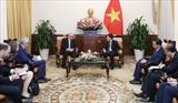 Вице-премьер Министр иностранных дел Фам Бинь Минь принял Госсекретаря МИД Германии Андреаса Михаэлиса