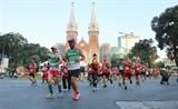 Gần 13.000 vận động viên tham gia Giải Marathon quốc tế Thành phố Hồ Chí Minh năm 2019