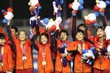 Сборная Вьетнама стала чемпионом турнира по женскому футболу в рамках SEA Games 30