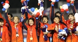 Đội tuyển nữ Việt Nam giành chức vô địch - đoàn Thể thao Việt Nam vươn lên vị trí thứ 2 tại SEA Games 30