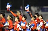 Вице-президент Вьетнама поздравила женскую сборную Вьетнама по футболу с победой
