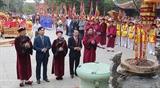 Состоялась церемония зажигания благовоний в память о Праматери Ауко в провинции Футхо