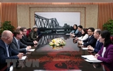 Phó Thủ tướng Vũ Đức Đam tiếp đoàn đại biểu Làng trẻ em SOS quốc tế