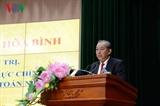 Bице-премьер Чыонг Хоа Бинь провел работу с руководителями Государственного аудита
