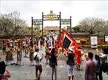 Во время Тэта комплекс объектов наследия Хюэ посетили более 50 тыс. иностранных туристов