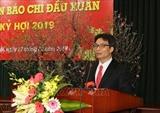 Efectúan primera reunión de la prensa vietnamita en ocasión de Nuevo Año Lunar