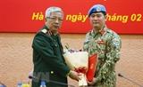 Еще один вьетнамский офицер направлен в Южный Судан