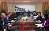 Вице-премьер Ву Дык Дам принял делегацию Детской деревни SOS
