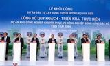 Премьер-министр принял участие в церемонии закладки фундаментa ключевых проектов в Тхайбине