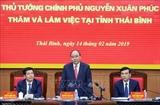 Премьер-министр Нгуен Суан Фук провёл встречу с руководством провинции Тхайбинь