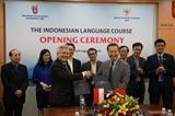 La langue indonésienne sera enseignée à lUniversité nationale de Hanoï