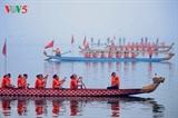 В Ханое завершился фестиваль гонок на лодках в виде драконов 2019 года