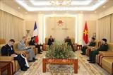 Le Vietnam et la France renforcent leur coopération dans la défense