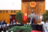 Премьер-министр провел рабочие встречи с руководителями некоторых министерств и ведомств