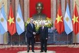 Việt Nam-Argentina hướng tới thiết lập quan hệ đối tác chiến lược