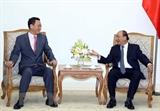 Премьер-министр Вьетнама принял Посла Южной Кореи во Вьетнаме