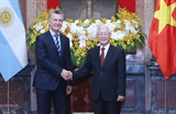 President of Argentinas Vietnam visit deepens bilateral strategic partnership