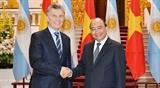 Премьер-министр и Председатель НС Вьетнама провели встречи с Президентом Аргентины