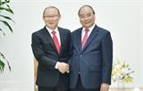 Премьер-министр Вьетнама принял главного тренера национальной сборной по футболу