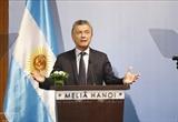 Президент Аргентины завершил государственный визит во Вьетнам