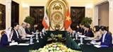 Việt Nam-Iran thúc đẩy hợp tác trong lĩnh vực kinh tế-thương mại