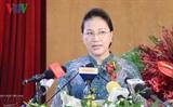Нгуен Тхи Ким Нган приняла участие в 30-летнем юбилее компании Новый порт Сайгон