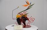 Vietnam participa por primera vez en exposición de ikebana arte japonés de arreglo floral