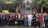 300 đại biểu Việt Nam và quốc tế du xuân hữu nghị Hà Nội 2019