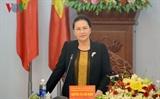 ប្រធានរដ្ឋសភាវៀតណាម លោកស្រី Nguyen Thi Kim Ngan អញ្ជើញជួបធ្វើការជាមួយថ្នាក់ដឹកនាំខេត្ត Gia Lai