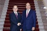 នាយករដ្ឋមន្ត្រីវៀតណាមលោក Nguyen Xuan Phuc អញ្ជើញជួបសន្ទនាជាមួយគណៈកម្មាធិការបក្សខេត្ត Guangxi (ចិន)